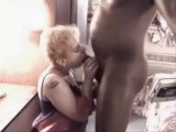 MILF amateur wife interracial creampie